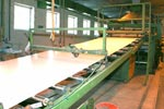 Plastic sheets production